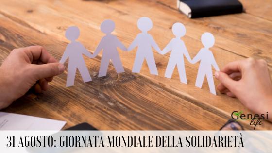 Giornata Mondiale della Solidarietà